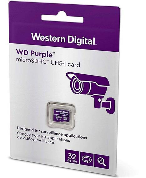 Memoria Micro Sd 32gb Western Digital Clase 10 U1 Videovigilancia