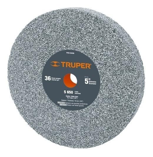 Piedra Para Esmeril Óxido De Aluminio 5 Pulg 16358 Tpr