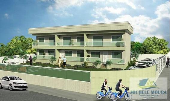 Apartamento Para Venda Em Araruama, Iguabinha, 1 Dormitório, 1 Banheiro, 1 Vaga - 202_2-438315