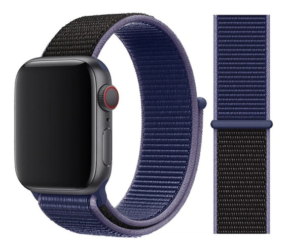 Correa Deportiva Bicolor Apple Watch 38-42mm Serie 1 2 3 4 5