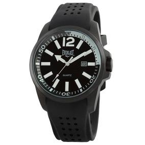 Relógio Unissex Analógico Everlast E460 Preto