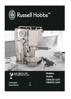 Cafeteira Expresso Russel Hobbs Rhges