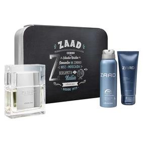 Boticario Zaad Kit Perfume + Desodorante + Shower Gel