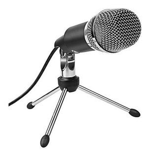 Microfono Condenser Hügel Streaming Gaming Usb Tripode Cuota