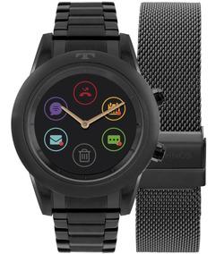 Relógio Feminino Technos Connect Smartwatch P01ad/4p Preto