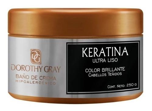 Imagen 1 de 2 de Baño De Crema Hipoalergenico Dorothy Gray Keratina Teñidos