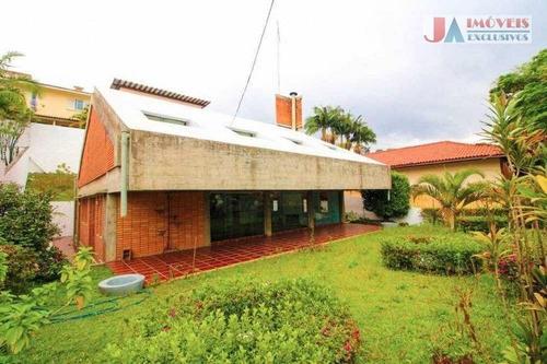 Casa Com 4 Dormitórios À Venda, 356 M² Por R$ 1.400.000,00 - Jardim Leonor Mendes De Barros - São Paulo/sp - Ca0663