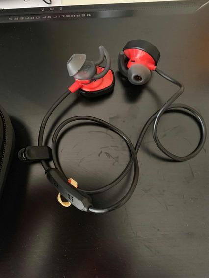 Fone Bose Sportsound Sem Fio Bluetooth Com Case Protetora