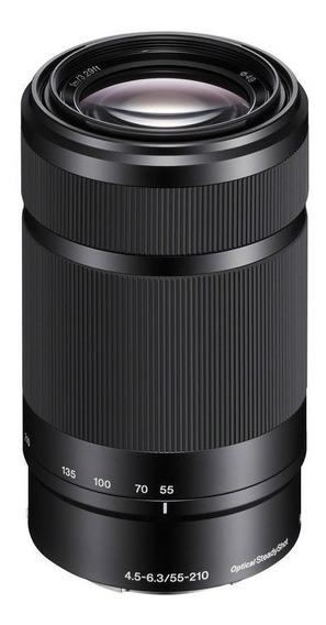 Lente Sony E 55-210mm F4.5-6.3 Oss + Filtro Uv + Nd Gradual