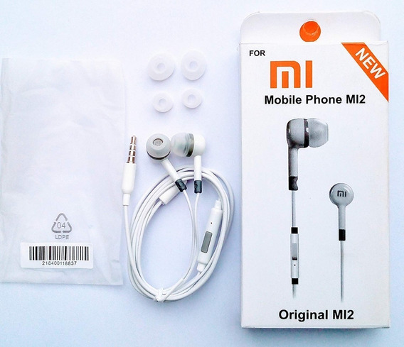 Fone De Ouvido Xiaomi Com Fio