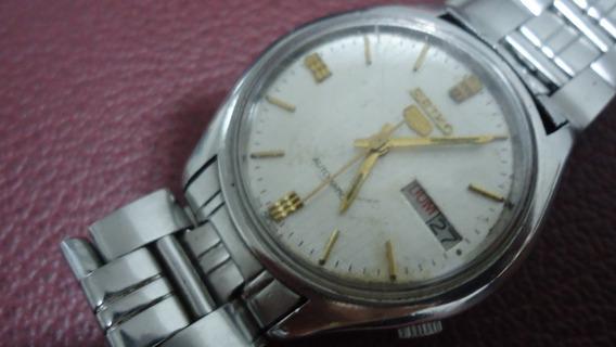 Relógio Seiko 5 Water Resistant Automatic P/ Uso Ou Coleção