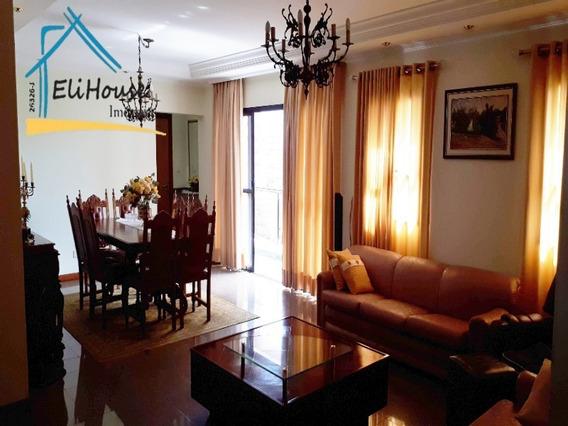 Eli House Imóveis - Creci 26326-j - Apartamento 159m2 - Vila Bastos - Santo André - Ap00607 - 32850707