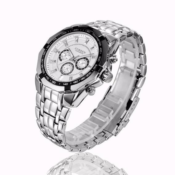 Relógio Masculino Aço Inoxidável - Super Promoção