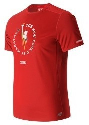 Remera New Balance Hombre Mt63223venr Nb Ice Ss