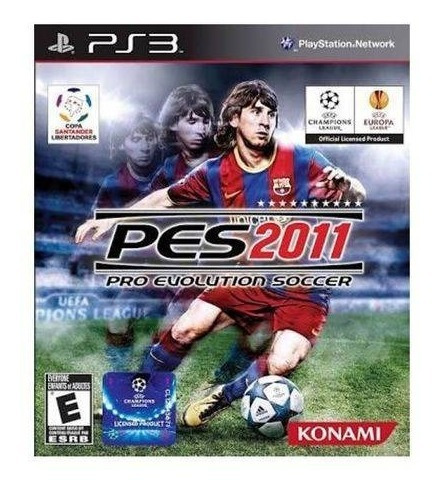 Pes 2011 Pro Evolution Soccer | Jogo Playstation 3 Ps3