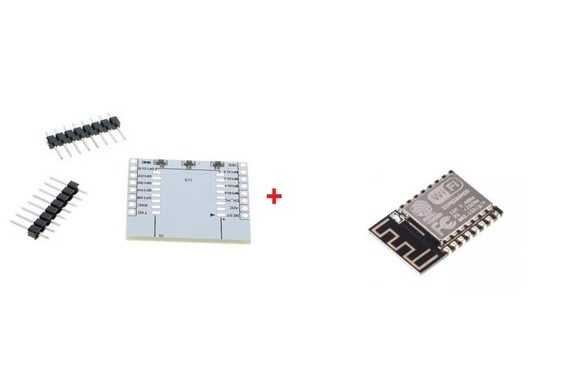 Esp8266 Esp12 Wifi 802.11 + Placa Base