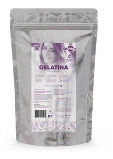 Gelatina Colágeno Em Pó Pura Sem Sabor 1 Kg
