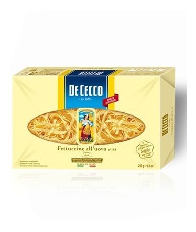 Pasta De Cecco Fettuccine Con Huevo De 250 G*