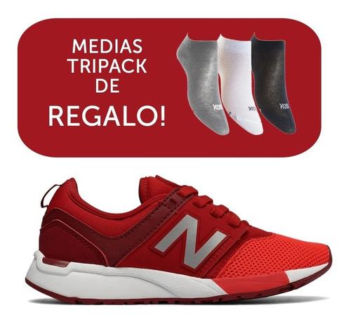 Zapatillas New Balance 247 Classic Kids Rojo