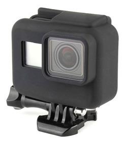Capa Protetora De Silicone - Gopro Hero5 E 6 Black - Moldura
