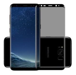 Película Privacidade Vidro Curvado Galaxy S8+ S9+ Anti-spy