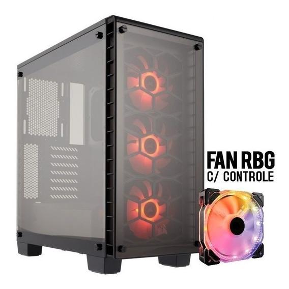 Pc Cpu Gamer I5 3470, Gtx 1650 4gb, 8gb, Ssd 240gb + Brinde