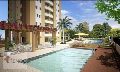 Apartamento Com 3 Dormitórios À Venda, 87 M² Por R$ 470.000,00 - Parque Boa Esperança - Indaiatuba/sp - Ap2268