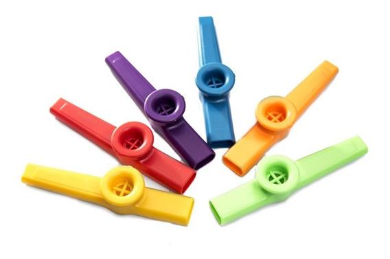 Kazoo Stagg Plastico Varios Colores A Elección X 6 Unidades