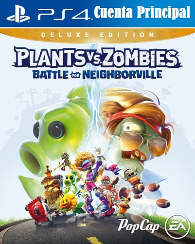 Plants Vs Zombies Bdn Edición Deluxe Ps4 Digital Más Extra
