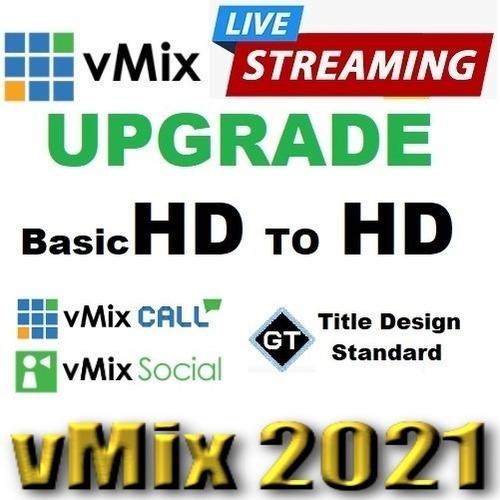 Imagem 1 de 2 de Vmix Upgrade Basichd Para Hd Oficial (12x Sem Juros)