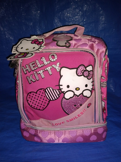 Lunchera Hello Kitty Footy Mk765 2 Cierres