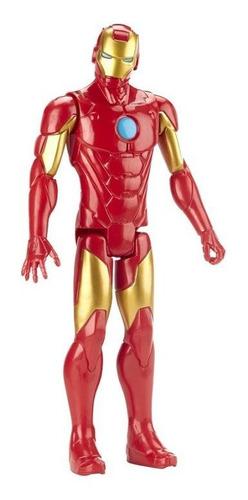 Imagen 1 de 3 de Figura Avengers Titan Hero 12 In Iron Man E7873