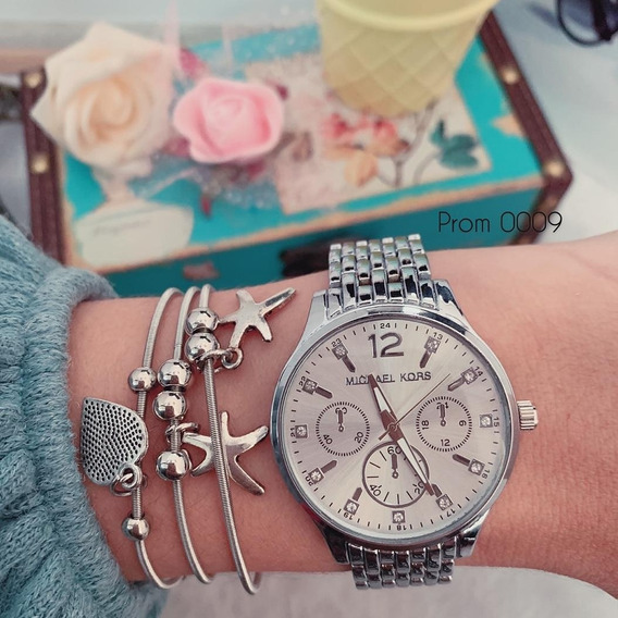 Relógio Feminino Prata
