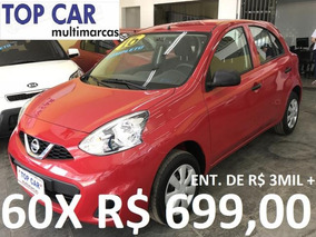 Nissan March 1.0 2016 - Parcelas De R$ 699,00