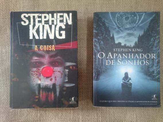 Lote Kit 4 Livros Stephen King # It A Coisa # Metade Negra