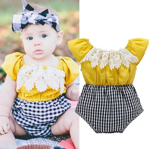 Mameluco De Moda Para Bebe Niña