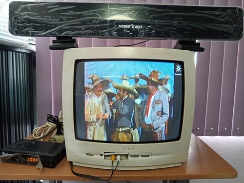 Imagen 1 de 2 de Televisión Análoga Philips 14
