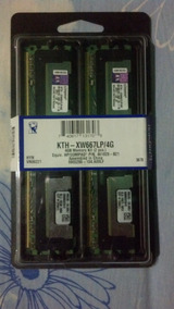 Memorias Ram De Servidor Kingston Kth- Xw667lp/4g Ddr2 667
