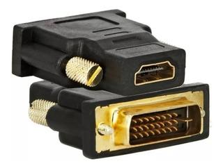 Adaptador Dvi-d Digital A Hdmi Gold Premium. Lcd, Led, Cañon