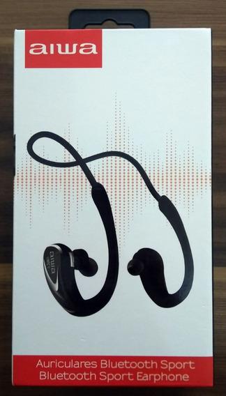 Fone Bluetooth Nfc Aiwa Aw902b Esportes Corrida Intra-auric.