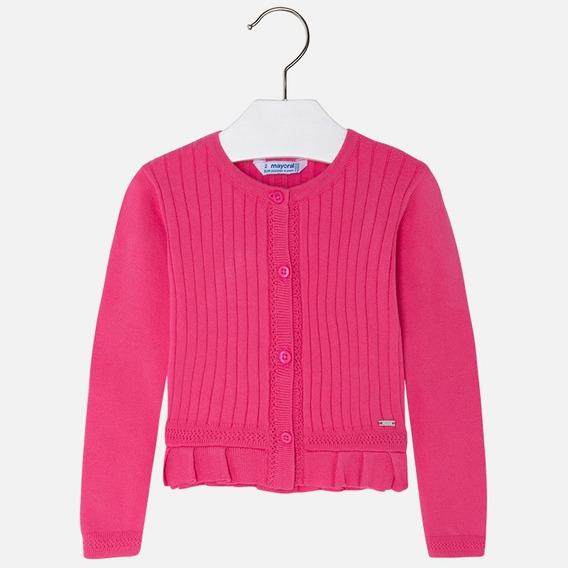 Torera/suéter Mayoral Niña Est. 3302, 2 Años Fucsia A