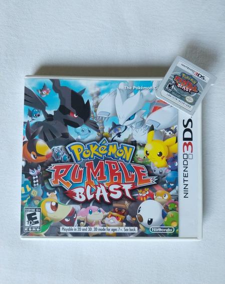 Pokémon Rumble Blast - Nintendo 3ds - Completo - Seminovo