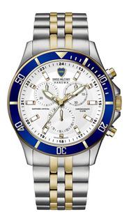 Reloj Swiss Military Boca Cronografo C/envio
