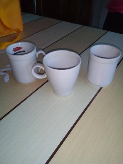 Pocillos De Café Doble.marca Tsuji X 3