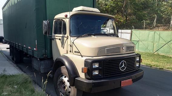 Mb L1514 6x2, 1988/88, No Chassis, Bom De Mecânica