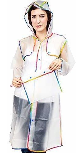 Poncho De Lluvia Para Para Hombres Y Mujeres Impermeable A