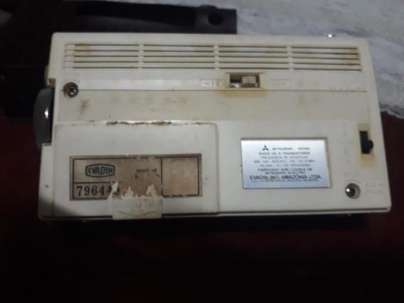 Rádio Portátil Evadin Modelo 01