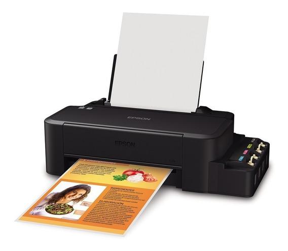 Impresora Epson L120 Con Sistema Tinta Continua