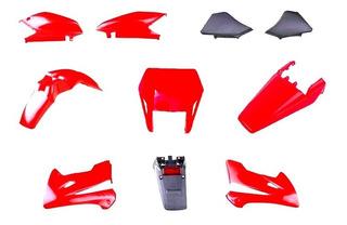 Kit Plasticos Honda Tornado 250 Mascara Colin Rojo Motosm