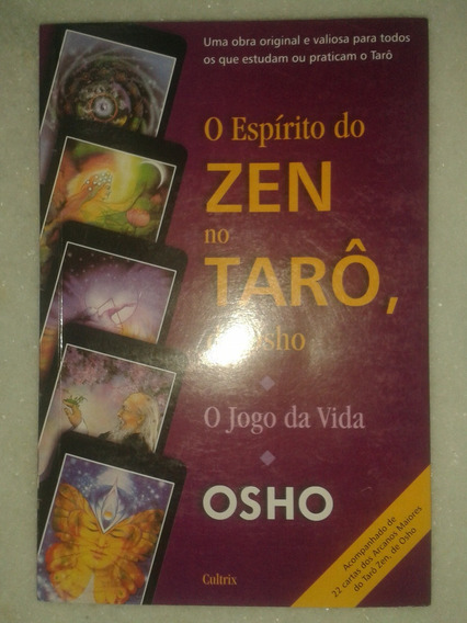 Livro O Espírito Do Zen No Tarô, De Osho - Osho - Com Cartas